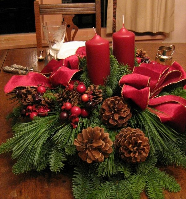 christmas table decorations centerpieces part 23 dyicraftcute